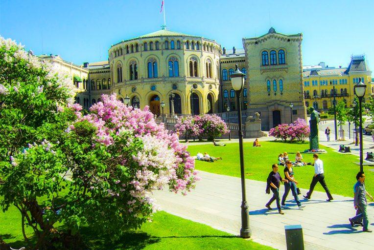 Ein Sommernachtstraum in Oslo