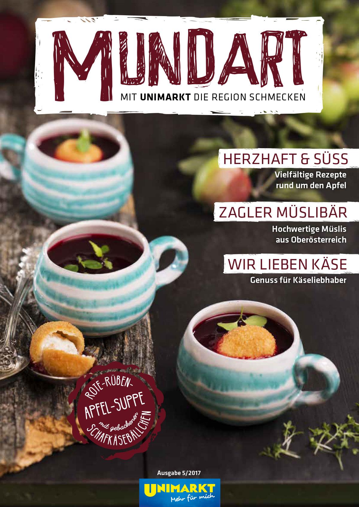Mundart (Unimarkt) Oktober 2017
